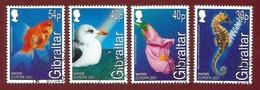 Gibraltar 2001  Mi.Nr. 962 / 965 , EUROPA CEPT - Lebensspender Wasser - Gestempelt / Fine Used / (o) - 2001