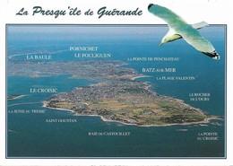44 Presqu'Ile De Guérande La Pointe Du Croisic Et La Grande Côte Jusqu'à La Baule (2 Scans) - Guérande