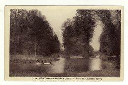 Cpa N° 37159 MONT SOUS VAUDREY Parc Du Château Grévy - Non Classés