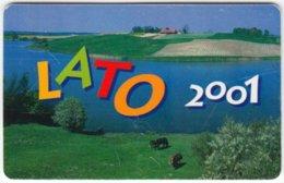 POLAND B-238 Chip Telekom - Landscape, River, Summer - Used - Polen