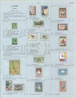 ALGERIE - Pages 13 à 60 (poids +100g) Extrait Du Catalogue Yvert & Tellier 2013 Pays Independants D Afrique - Postzegelcatalogus