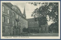 Heiligenstadt Schloß Und St.-Martins-Kirche, Gelaufen 1940 Bahnpost (AK2206) - Heiligenstadt