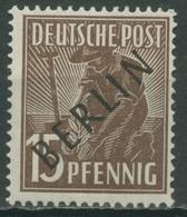 Berlin 1948 Schwarzaufdruck 6 Postfrisch - Ungebraucht