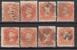1867-68  Yvert Nº 11 - Chile