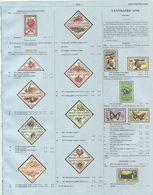 CENTRAFRICAINE Rep - Pages 223 A 318 (poids +100g) Extrait Du Catalogue Yvert & Tellier 2013 Pays Independants D Afrique - Cataloghi