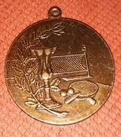 Table Tennis Medal  PLIM - Tischtennis