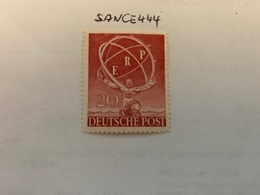 Berlin The Marshall Plan Mnh 1950 - [5] Berlin