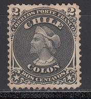 1867-68  Yvert Nº 12  (*) - Chile