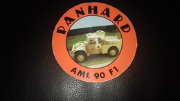 Autocollant  Char Militaire Panhard Ami 90 F1 - Autocollants