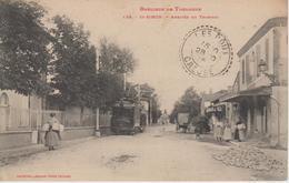 CPA Banlieue De Toulouse - Saint-Simon - Arrivée Du Tramway (animation Avec Tram) - Autres Communes