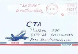 Congo 2000 Brazzaville Meter Satas SE 94561 EMA Post Office Cover - Congo - Brazzaville