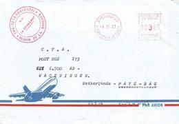 Congo 2003 Brazzaville Meter SECAP 35141 EMA Post Office Cover - Congo - Brazzaville