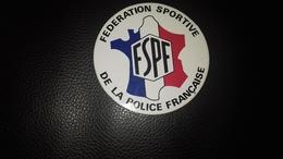 Autocollant  Fédération Sportive De La Police Française - Autocollants