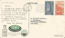 Congo 1953 Pointe Noire Ionnyl Viewcard - Brieven En Documenten