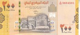 YEMEN 200 RIAL 2018  P- NEW UNC */* - Jemen