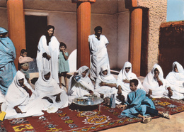 AFRIQUE,MAURITANIE,VUE ANIMEE,FAMILLE,THE - Mauritania