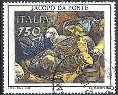 Italia, 1992 Arte - Jacopo Da Ponte, 750L # Sassone 2022 - Michel 2241 - Scott 1905  USATO - 6. 1946-.. Republik