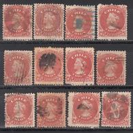 1867-68  Yvert Nº 13 - Chile