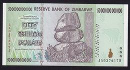 ZIMBABWE - Fifty Trillion Dollars UNC 2008 (see Sales Conditions) - Zimbabwe
