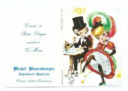 Calendrier 1978 Folklore Régional Costume Paris French Cancan Illustrateur Elsi - Calendars