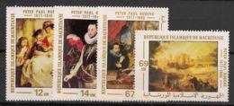 Mauritanie - 1978 - N°Yv. 382 à 385 - Rubens - Neuf Luxe ** / MNH / Postfrisch - Mauritania (1960-...)
