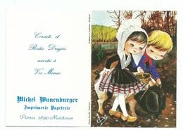 Calendrier 1978 Folklore Et Tradition Régional Costume Périgord Illustrateur Elsi - Calendars