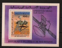 Mauritanie - 1979 - Bloc Feuillet BF N°Yv. 26 - Apollo XI - Neuf Luxe ** / MNH / Postfrisch - Mauritania (1960-...)