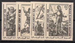 Mauritanie - 1979 - N°Yv. 409 à 412 - Dürer - Neuf Luxe ** / MNH / Postfrisch - Mauritania (1960-...)