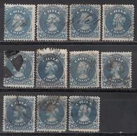 1867-68  Yvert Nº 14 - Chile
