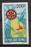 Mali - 1970 - PA N°Yv. 103 - Rotary - Non Dentelé / Imperf. - Neuf Luxe ** / MNH / Postfrisch - Mali (1959-...)
