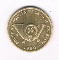 JETON 1990 POLEN /3802/ - Pologne