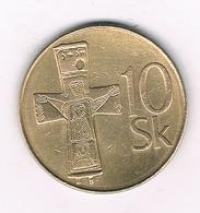 10 KORUN   1993 SLOWAKIJE /3804/ - Slovaquie