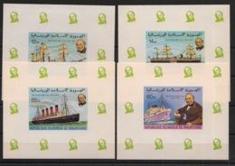 Mauritanie - 1979 - N°Yv. 418 à 421 - Rowland HIll - KLB / Mini Sheet - Neuf Luxe ** / MNH / Postfrisch - Rowland Hill