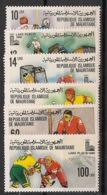Mauritanie - 1979 - N°Yv. 431 à 436 - Olympics / Lake Placid 80 - Neuf Luxe ** / MNH / Postfrisch - Mauritania (1960-...)