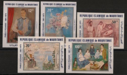 Mauritanie - 1981 - PA N°Yv. 204 à 208 - Picasso - Non Dentelé / Imperf. - Neuf Luxe ** / MNH / Postfrisch - Picasso
