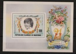 Mauritanie - 1982 - Bloc Feuillet BF N°Yv. 35 - Princess Diana - Neuf Luxe ** / MNH / Postfrisch - Case Reali