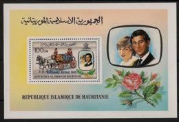 Mauritanie - 1982 - Bloc Feuillet BF N°Yv. 36 - Princess Diana - Neuf Luxe ** / MNH / Postfrisch - Case Reali