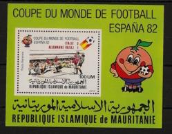 Mauritanie - 1982 - Bloc Feuillet BF N°Yv. 37 - Football World Cup Espana - Neuf Luxe ** / MNH / Postfrisch - Coppa Del Mondo