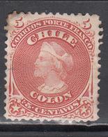 1867-68  Yvert Nº 13 MH. - Chile