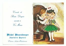 Calendrier 1978 Folklore Et Tradition Régionale Costume D' Aquitaine  Illustrateur Elsi - Calendars