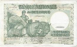 Bélgica - Belgium 50 Francs 3-1-1944 Pk 106 3.8 Firmas Sontag Y Goffin Ref 7 - Otros