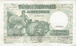 Bélgica - Belgium 50 Francs 3-1-1944 Pk 106 3.8 Firmas Sontag Y Goffin Ref 7 - [ 2] 1831-... : Reino De Bélgica