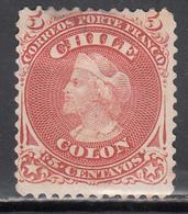 1867-68  Yvert Nº 13 (*) - Chile