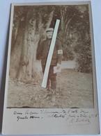 1915 Infirmier Asile De Quatre Mare Tranchée Poilus 1914 1918 WW1 Cph - War, Military
