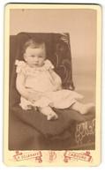 Photo Paul Delahaye, Cabourg, Avenue De La Mare, Portrait De Eines Babys Auf Einem Sessel - Personnes Anonymes