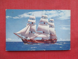 The Bounty Sailing Vessel Pitcairn Island Stamp & Cancel To Flushing NY  ---  Ref 3319 - Sailing Vessels