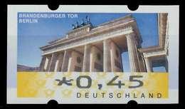 BRD ATM 2008 Nr 6-x-045 Postfrisch X88D30A - Automatenmarken