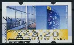 BRD ATM 2008 Nr 7-x-220 Gestempelt X88D482 - Automatenmarken