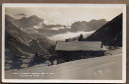 Chamonis Mont Blanc In Winter Posted 1936 - Chamonix-Mont-Blanc