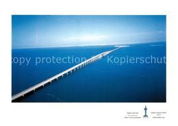 73129864 Bahrain King Fahd Causeway Connecting Saudi Arabia With Bahrain Aerial - Bahrain